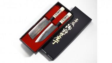 Tojiro Shirogami Geschenkset 2tlg. Zunder