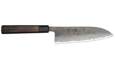 Tojiro Handmade Shirogami Santoku 170mm