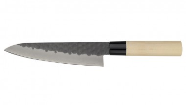Tojiro DP 3 Lagen HQ Hammered Magnolie Kochmesser 180mm