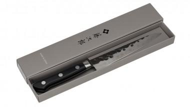 Tojiro DP 3 Lagen HQ Hammered Micarta kleines Allzweckmesser 130mm